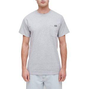 NWT OBEY All Eyez Pocket T-Shirt - Light Gray - XL